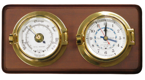 Channel Tide Clock & Barometer Set