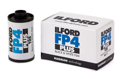 ILFORD FP4 FILM 35MM 36EXP 10PK