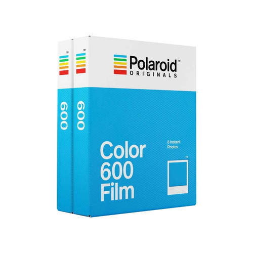 POLAROID 600 COLOR TWIN PACK