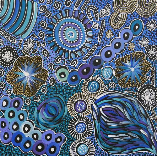 Janet Golder Kngwarreye - MB055145