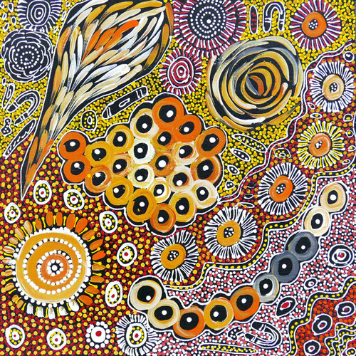 Janet Golder Kngwarreye - MB055397