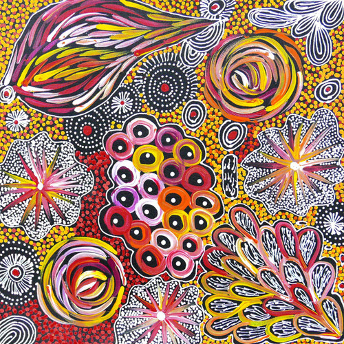 Janet Golder Kngwarreye - MB055398