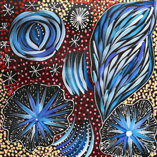 Janet Golder Kngwarreye - SP7523