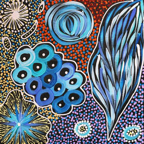Janet Golder Kngwarreye - SP7525