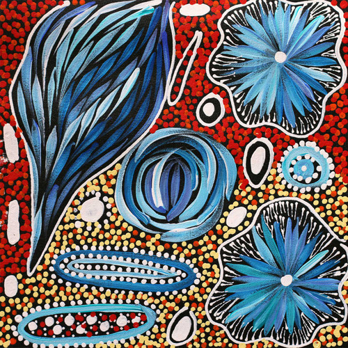 Janet Golder Kngwarreye - SP7526