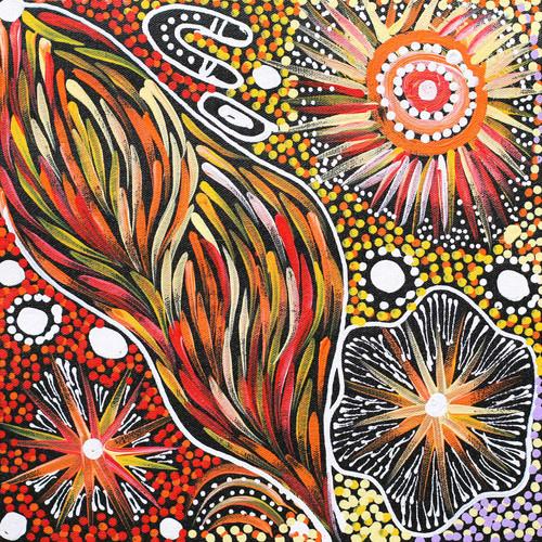 Janet Golder Kngwarreye - SP7533