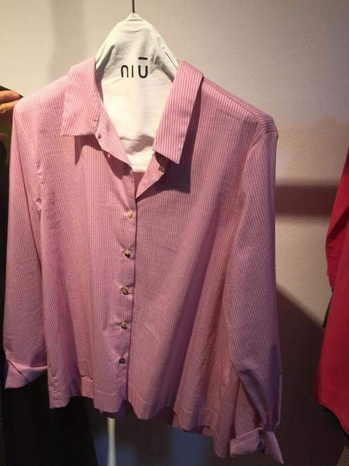 Camisa rayas rosas NIU