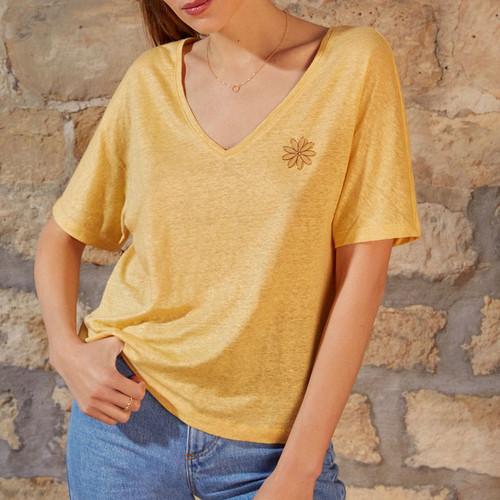 Camiseta JANAKO2 Des Petits Hauts color Soleil