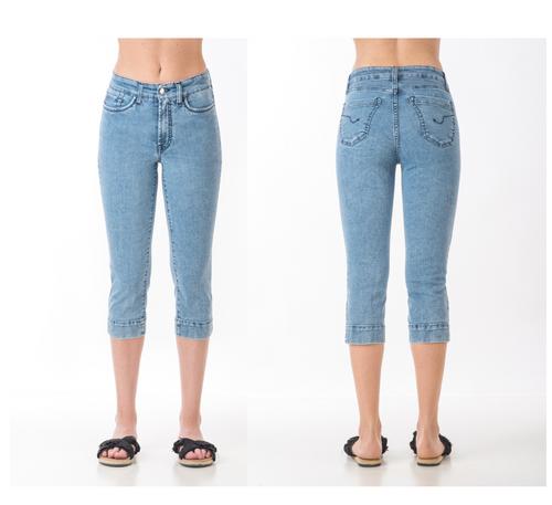 Pantalón capri SOS jeans color azul