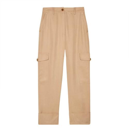 Pantalón cargo ANDAM con dobladillo marcado V214512