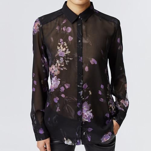 camisa estampada  IKKS women BT12025