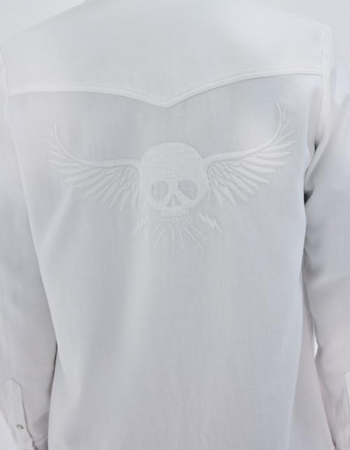 camisa bordada IKKS women BT12035