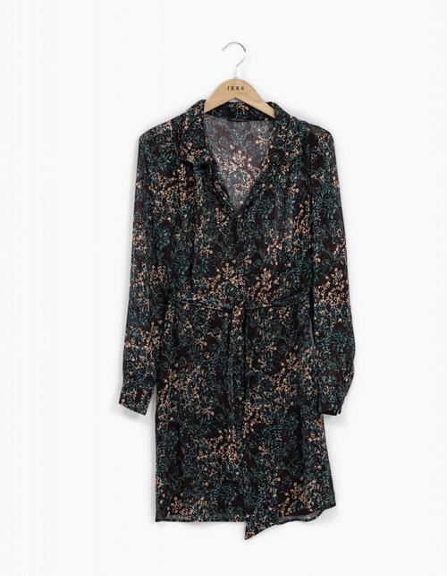 vestido Ikks women BT30235 color INK