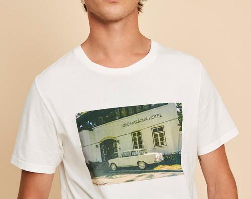 Tshirt Harriwiswillson modelo FAUST color ecru