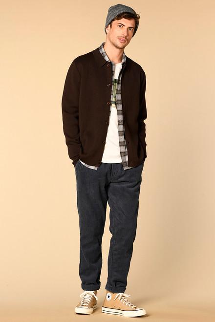 Chaqueta Harriswillson men modelo Olymphe color marron