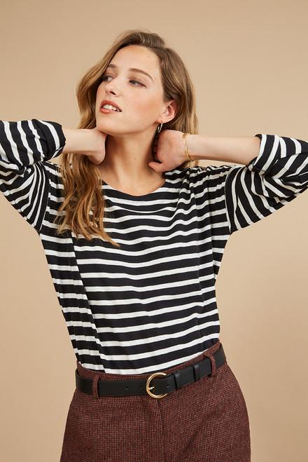 camiseta manga larga Harriswillson women modelo Honore