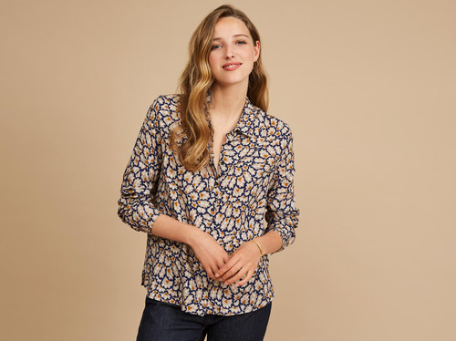 camisa estampada EFFISIO Harriswillson mujer