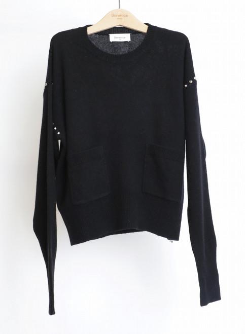 Jersey Berenice modelo ADAM color black
