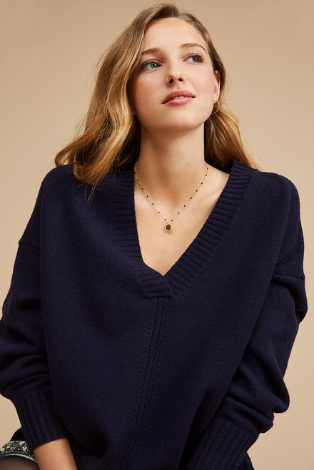 jersey Harriswillson women modelo George color marino