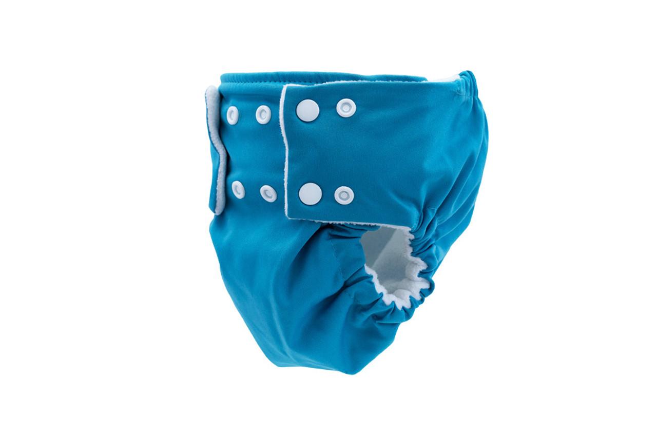 Pea Pods Reusable Nappies Aqua Blue