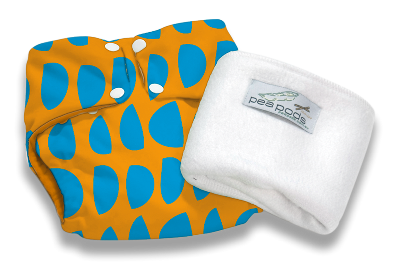 Pea Pods Reusable Nappies Armadillo
