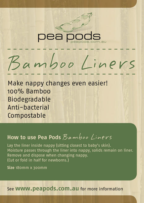 Pea Pods Bamboo Liners