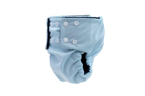 Pea Pods Reusable Nappy Pastel Blue