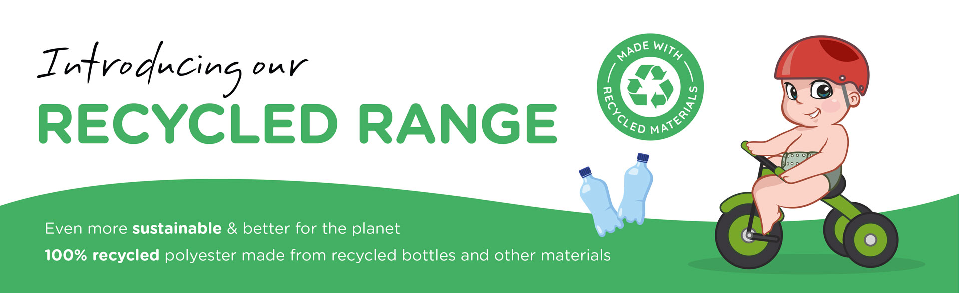 Pea Pods Recycled Range is even more sustainable and better for the plant.
