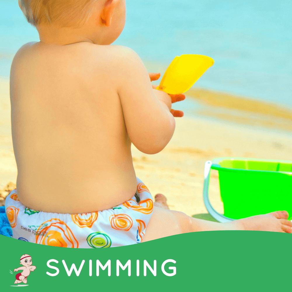 Pea Pods Swim Nappies Reusable