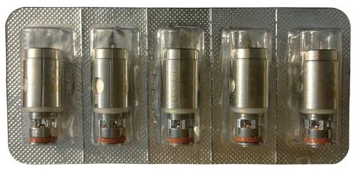 Genuine Kangertech Subtank Toptank SSOCC Stainless Steel Coils - Pack of 5