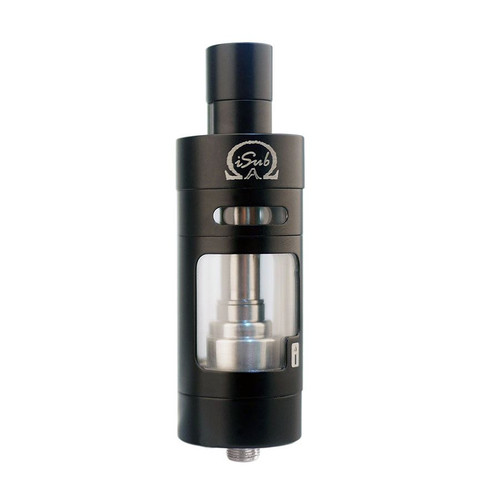 Genuine Innokin iSub Apex 5 TopFill 5ml Pyrex Glass Tank Clapton BVC - BLACK