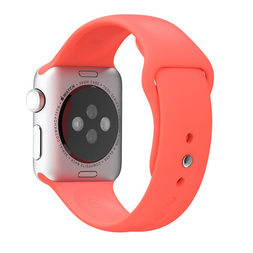 Apple Watch 38MM Pink Sport Band - Pink - ( MJ4K2ZM/A )
