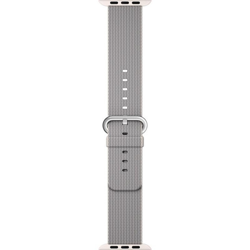 Apple Watch 38MM Pearl Woven Nylon Buckle - Pearl - ( MM9T2AM/A )