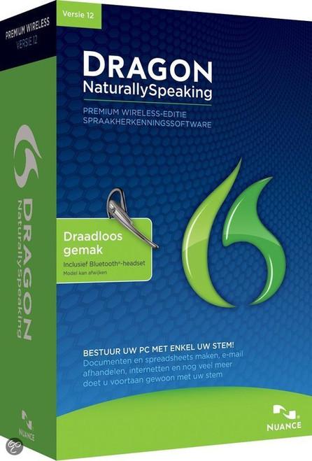 DRAGON NaturallySpeaking Premium Wireless Edition Including Bluetooth Headset - ( K609L-WN9-12.0 )