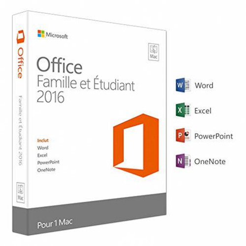Microsoft Office MAC Home Student 365 2016 for MAC - (  )