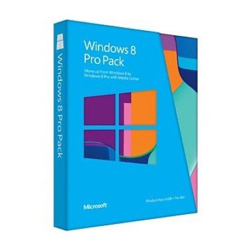 Microsoft Windows 8 Pro Pack 32/64 bit  - (  )