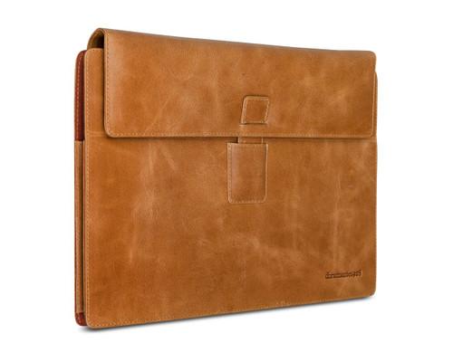 dbramante1982 Pure Leather on the go Microsoft Surface Pro 3 protective case - Hunter Dark - ( SHMSHD000564 )