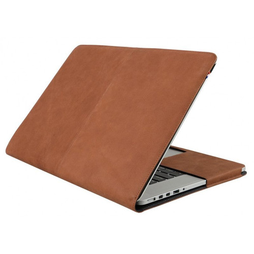 """DECODED Leather Slim Sleeve for 13"""" MacBook Air / Pro / Pro Retina Display - Brown - ( D2MPR13SC1 )"""