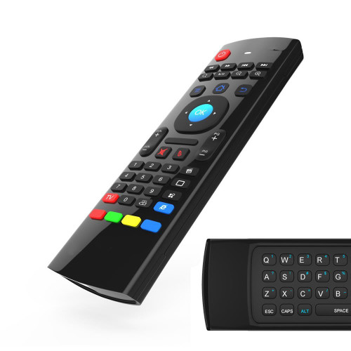 DEVOLTA Air mouse, and Keyboard with Multifuntional Infrared IR Learning for Smart TV, Android TV Box,and  Mini PC