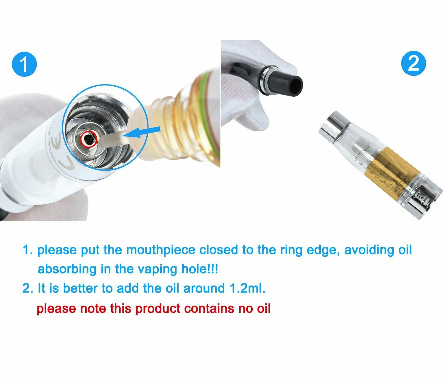 CE4 Atomizer filling instructions