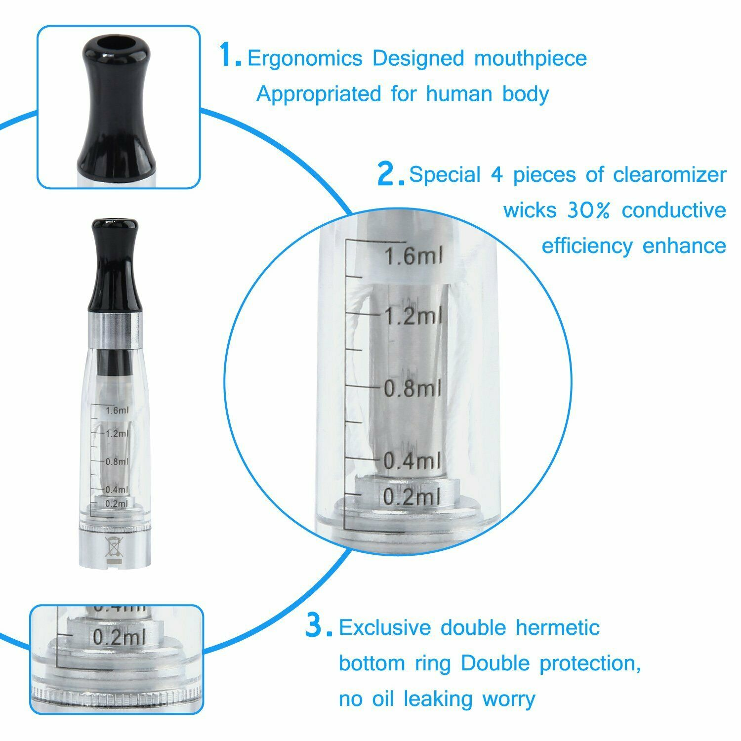 CE4 Atomizer Features