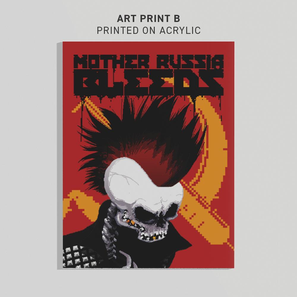 MOTHER RUSSIA BLEEDS ART PRINT B