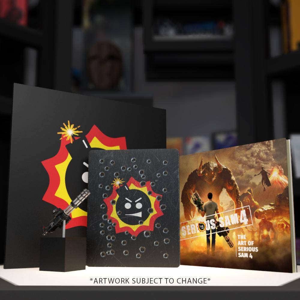 SERIOUS SAM 4  [PC COLLECTOR'S EDITION]