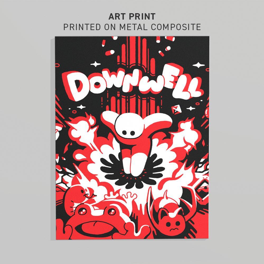 DOWNWELL ART PRINT