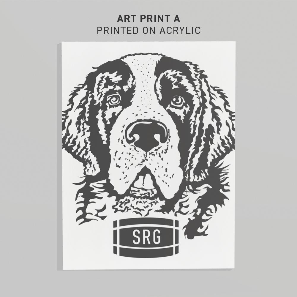 SARGE ART PRINT A