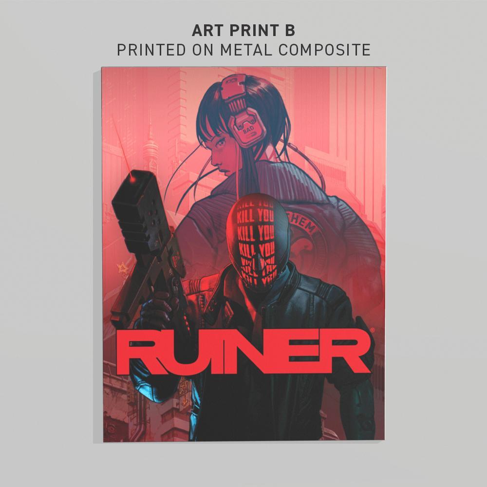 RUINER ART PRINT B