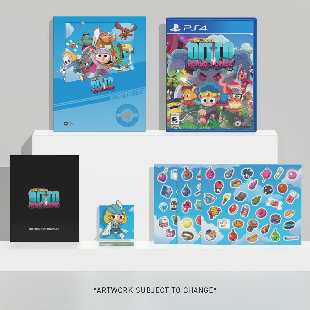 THE SWORDS OF DITTO: MORMO'S CURSE [PS4 RESERVE]