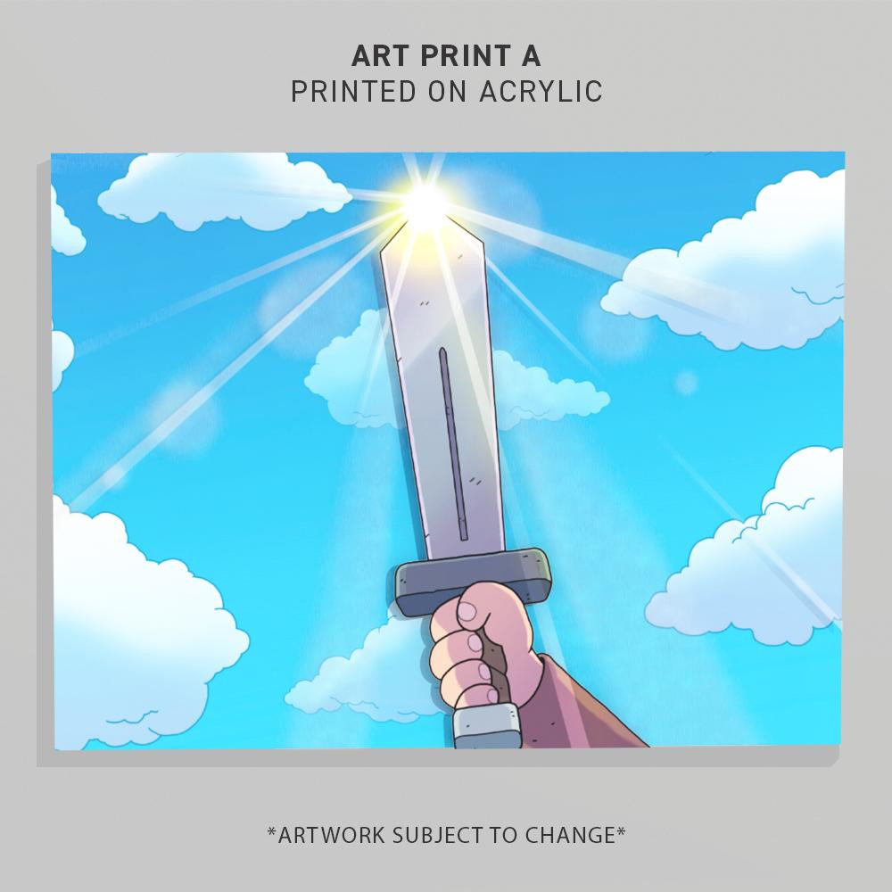 THE SWORDS OF DITTO: MORMO'S CURSE ART PRINT A