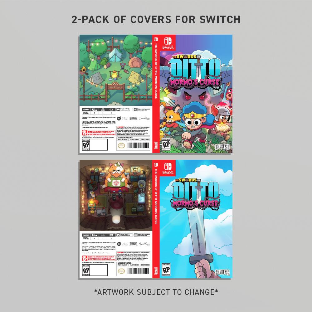 THE SWORDS OF DITTO: MORMO'S CURSE 2-PACK SWITCH JACKET ARTWORK VARIANTS