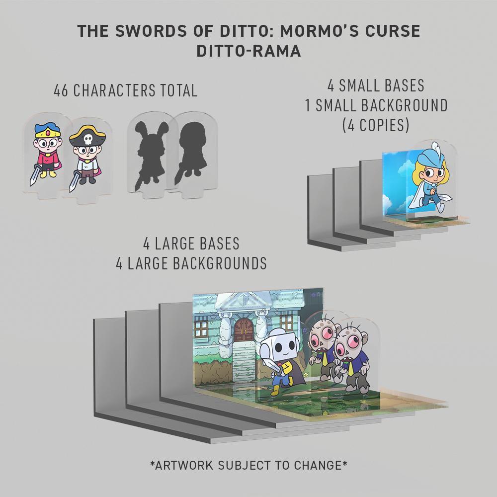 THE SWORDS OF DITTO: MORMO'S CURSE DITTO-RAMA